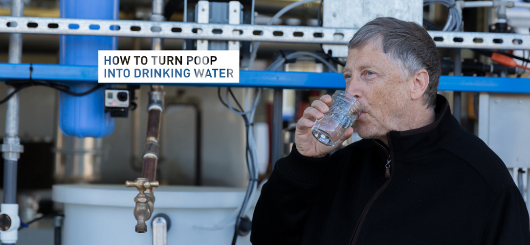 This Ingenious Machine Turns Feaces Into Drinking Water